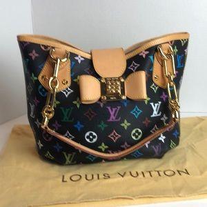 Louis Vuitton Multicolor Annie  MM Tote